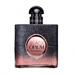 PERFUME YVES SAINT LAURENT BLACK OPIUM FLORAL SHOCK EDP 90ML