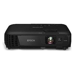 Projetor Epson PowerLite S31+ 3200 Lumens com HDMI Bivolt/50~60Hz - Preto