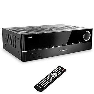 Receiver A/V Harman Kardon AVR1610S com Bluetooth/HDMI de 5.1 Canais - Preto