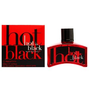 Perfume Nuparfums Hot is Black Pour Homme EDT M 100ML
