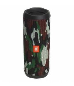 Caixa de Som Speaker Portatil JBL Flip 4 Bluetooth Prova d'Agua IPX7 Camuflado