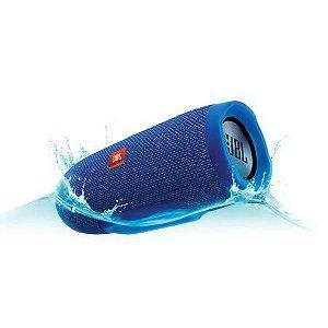 Caixa de som Speaker Portatil JBL Flip 4 Bluetooth Prova d'Agua IPX7 Azul
