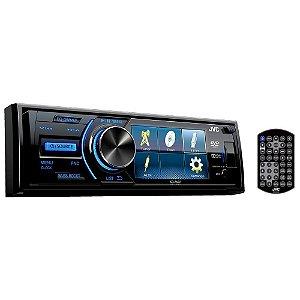 """DVD PLAYER JVC KD-AV31 3"""" 1-DIN FM/USB/AUX"""