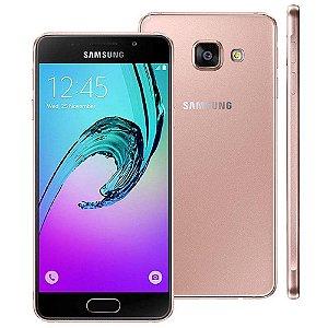 """SMARTPHONE SAMSUNG GALAXY A3 A310M/DS 4.7"""" 16GB 1.5GB RAM DUAL 4G LTE ROSA"""