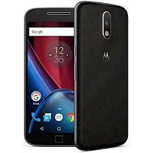 Smartphone Motorola Moto G4 Plus XT1642 Dual Sim 16GB Tela 5.5 16MP/5MP Os 6.0.1 Preto