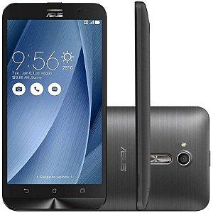 """Celular Smartphone Asus Zenfone Go ZB500KL 16GB LTE Dual Sim Tela 5"""" HD Câm.13MP+5MP - PRETO"""