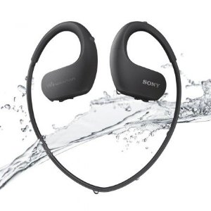 Walkman Sony MDR-WS623/BM 4GB Bluetooth NFC Preto