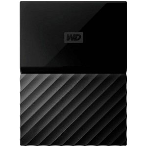 HD Externo Western Digital 2TB Portatil Passport Preto