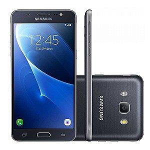 "SMARTPHONE SAMSUNG GALAXY J7 J710MN 5.5"" 16GB 2GB RAM DUAL 4G LTE PRETO"