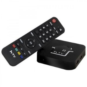 Box Smartv  HdTV 5 Ultra 4K - Preto