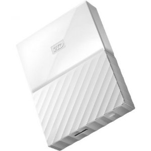 HD EXTERNO WESTERN DIGITAl 4 TB PORTÁTIL PASSPORT NEW BRANCO