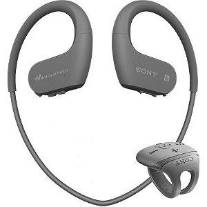 Fone de Ouvido Sony Nwz-ws625 MP3 16GB Bluetooth Preto