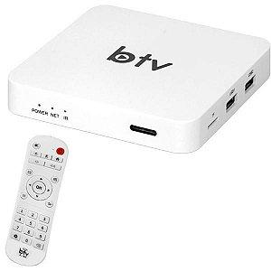Box TV Smartv BTV Ultra 4K - Preto