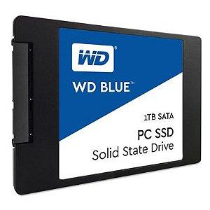 """SSD WESTERN DIGITAL 7MM WDS100T2B0A 1TB 560-530 MB/S 2.5"""" AZUL"""