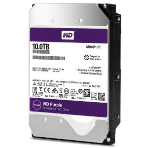 HD Interno Western Digital 10TB WD100PURZ Roxo