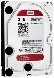 "HD Western Digital NAS 3.0TB 3.5"" 5400RPM 64MB"