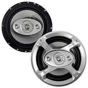 "Alto Falante de 6.5"" Roadstar RS-1648 de 65 Watts - Prata"