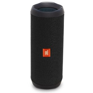 Caixa de Som Speaker Portatil JBL Flip 4 Bluetooth Prova d Agua IPX7 Preto