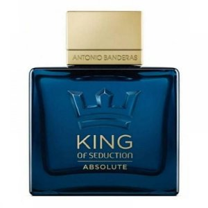 Perfume Antonio Banderas King Of Seduction Absolute Eau de Toilette Masculino 100ML