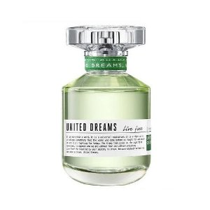 Perfume Benetton United Dreams Live Free EDT Feminino 50ML