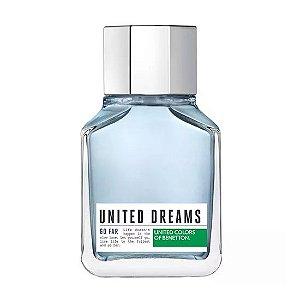 Perfume Benetton United Dreams Go Far EDT Masculino 60ML