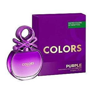 Perfume Benetton Colors Purple EDT Feminino 50ML