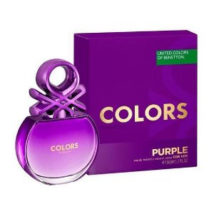 Perfume Benetton Colors Purple EDT Feminino 80ML