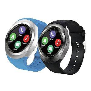 Relógio Smartwatch SN05 v01 Bluetooth - Azul