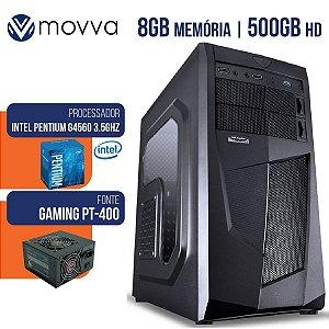 Computador Gamer Intel Pentium G4560 3.5ghz 8gb HD500GB