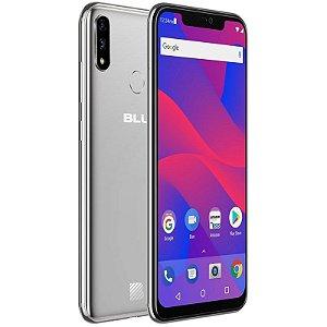 """Smartphone Blu XI+ Dual Sim LTE 6.2"""" FHD 64GB/4GB Prata"""
