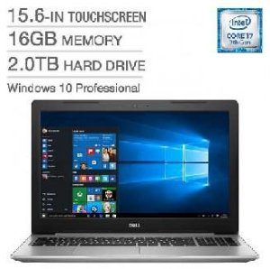 "Notebook Dell I5570-7487 i7 1.8GHZ 16GB 2TB 15.6"" Silver"