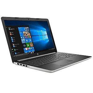 "Notebook HP 15-DA0014DX RB 15.6"" 1.6GHZ 12GB Ram 128GB Prata"