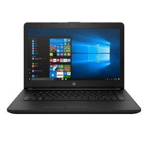 "Notebook HP 1.5GHZ 4GB 32GB 14.1"" W10 Preto Interno/Prata Externo"