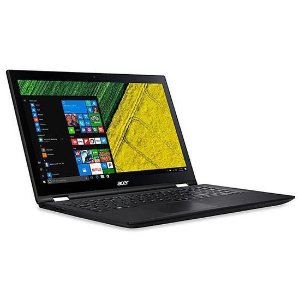 Notebook Acer Spin 3 SP315-51-32UU 15.6 2.4GHZ 4GB 1TB Preto