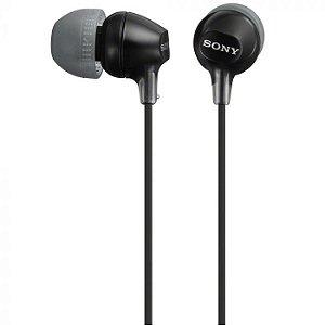Fone de ouvido Sony MDR-EX15LP - Preto
