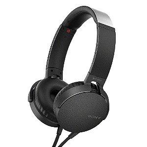 Fone de Ouvido Sony Extra Bass MDR-XB550AP - Preto