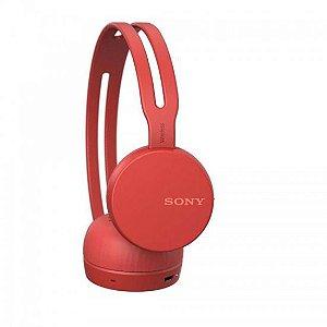 Fone de Ouvido Sony CH400 - Vermelho
