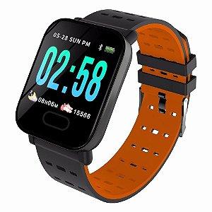 Smartwatch Midi A6 Laranja