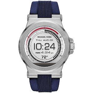 Smartwatch Michael Kors Access Dylan MKT5008 Prateado/Azul