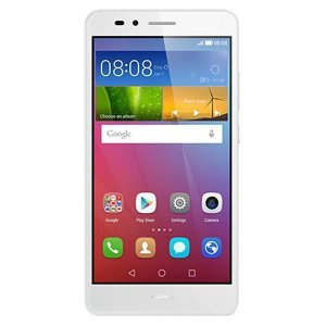 "Smartphone Huawei GR5 Dual Sim 16GB 5.5"" - Prata"