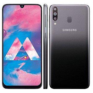 "Smartphone Samsung Galaxy M30 Lte 1 Sim 64GB 6.4""- Preto"