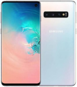 "Smartphone Samsung Galaxy S10 Dual Sim 512GB 6.1"" -Branco"