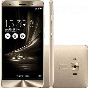 """Smartphone Asus Zenfone 3 Deluxe 64GB Dual Sim 5.5"""" - Dourado"""