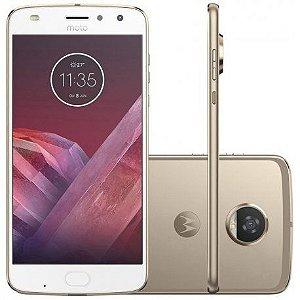 "Smartphone Motorola Moto Z2 Play 64GB Dual Sim 5.5""-Dourado"