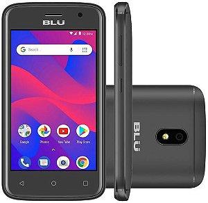 "Smartphone Blu C4 C050L Dual Sim 3G Tela 4.0"" 8GB- Preto"