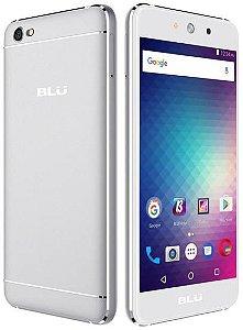 """Smartphone Blu Grand M Dual Sim 3G 5.0"""" 5MP/3.2MP- Prata"""