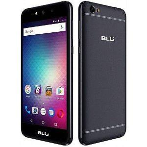 "Smartphone Blu Grand Max Dual Sim 3G 5.0"" 8MP+8MP- Preto"