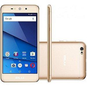 "Smartphone Blu Grand XL 1GB/8GB Dual Sim 3G 5.5""- Dourado"