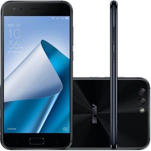 "Smartphone Asus Zenfone 4 32GB Lte Dual Sim 5.5"" - Preto"