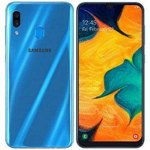 """Smartphone Samsung Galaxy A30 Dual Sim Lte 64GB 6.4"""" - Azul"""